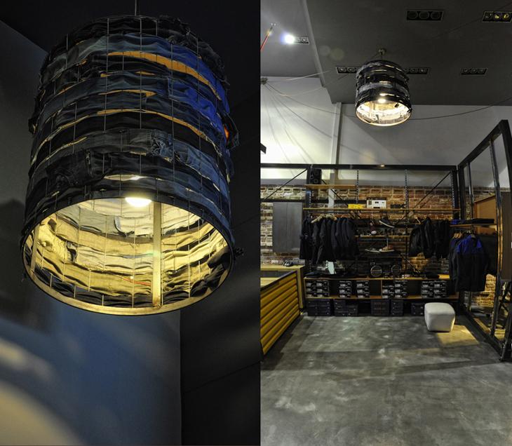 DUDE LRS JEAN DEALERS store custom lamp